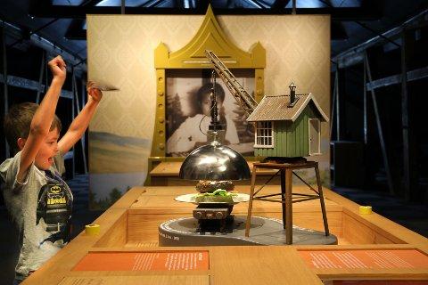 LET OG FINN: Det er flere ting å utforske og oppdage i Verdensarvsenteret.