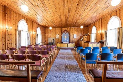 KIRKEROM: I hundre år har det vært kirke i dette bygget, og det aller siste møtet var sist søndag.