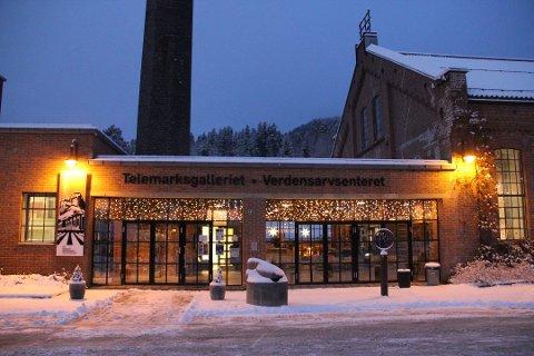 STENGER: NIA stenger Telemarksgalleriet og Vemork for å bidra i kampen mot korona.