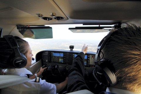 INSTRUKSJON: Pilot Flight Academy må gjennomføre de praktiske flytimene fra Notodden flyplass.