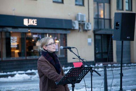 Leder av 8. mars komiteen på Notodden, Kristine Helliesen, forteller om årets 8. mars markering. De har laget et program, med en miks av fysisk og digitalt innhold.