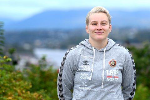 KLAR: Til tross for en mildt sagt utfordrende oppkjøring, er Iselin Moen Solheim nå klar for å kjempe i VM på hjemmebane.