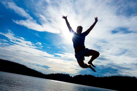 VARME: Sommeren nekter å gi slipp i år. Åtte av ni septemberdager kan til nå kalles sommerdager.