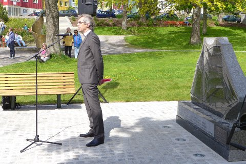 Sverre J. Svendsen holdt foredrag om spansketida.