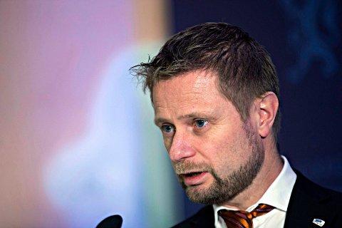 Helse- og omsorgsminister Bent Høie. Foto: Terje Bendiksby / NTB scanpix