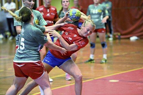 Andrea Betten spilte en god kamp da KHKs kvinnelag vant mot Heimdal i cupen.