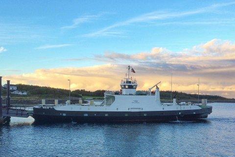 «Aure» eies av Holberg Shipping på Smøla.
