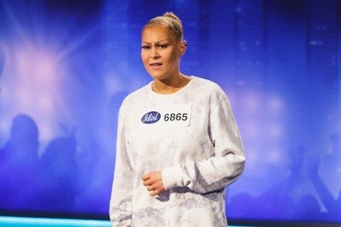Idol 2016, audition i Trondheim. Kristine Hellem fra Kristiansund.