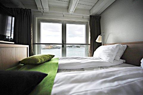 I juli hadde hotellene i Kristiansund et belegg på 65,6 prosent. Samlet for årets første sju måneder var belegget på 46,7 prosent.