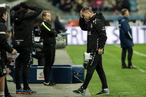 Mjøndalen-trener Vegard Hansen.