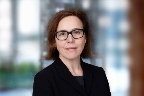 Ellen Bramness Arvidsson, internasjonal direktør i Finans Norge.