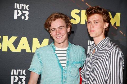 Isak (Tarjei Sandvik Moe) og Even (Henrik Holm)  fra TV-serien SKAM  Foto: Terje Bendiksby / NTB scanpix