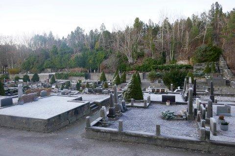 Tiltaksplan: På Kirkelandet gravsted er det mål om opparbeiding av 487 nye kistegraver og 562 nye urnegraver innen 2022.