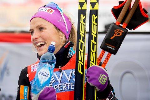 - Stå på Therese, for vi støtter deg og er stolt over deg, skriver Åse Hvitsand Greger.