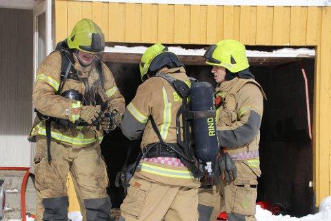Rindal brannvesen må ha minmum én slik øvelse hvert år.
