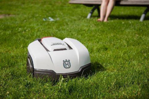 Robotgressklipperen bidrar ikke til økt fysisk aktivitet.