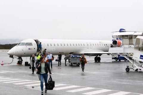 SAS 90-seters fly fikk ikke med alle lærerne fra Kristiansund.