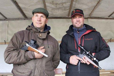 Christian Lindberg (til venstre) og Sigbjørn Bredesen var med i nordisk mesterskap.