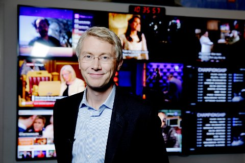 Olav Terjeson Sandnes, sjefredaktør og administrerende direktør i TV 2.