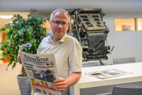 Sjefsredaktør i Tidens Krav, Ole Knut Alnæs.