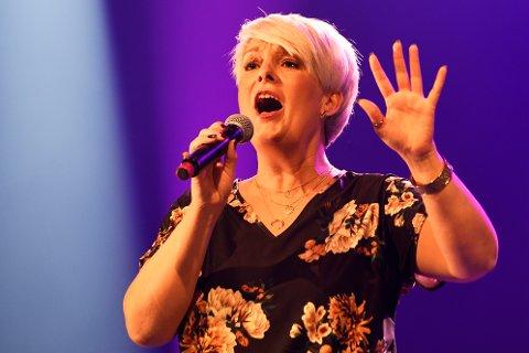 Stjerne: «Stjerner i sikte»-artisten Torill Moe viste en stor stemmeprakt som fikk kveldens største applaus.