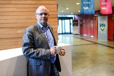 KRF-MANN: Vi representerer et tredje alternativ med vår sentrumspolitikk, mener KrFs Steinar Reiten.