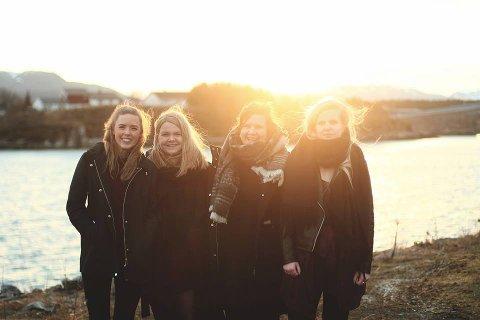 Maja Skomsøy, Silje Bjellvåg, Jorunn Sundet og Maren Molvik er ute med låte «Husk mæ feil».