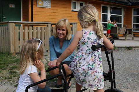 Anne Lindboe er administrerende diretør i Private barnehagers landsforbund.