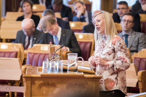 Svekket rettssikkerhet er resultatet av det justisbudsjettet som Stortinget vedtar mandag, ifølge Aps justispolitiske talsperson Lene Vågslid.