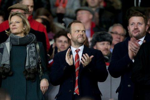 Manchester United-direktør Ed Woodward har stor tro på Ole Gunnar Solskjær.