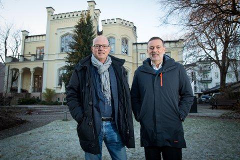Terje Svabø (til venstre) og Jan-Erik Larsen skal samarbeide.