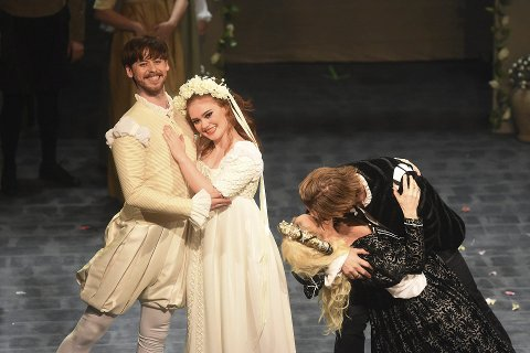 «Kiss me Kate» bidro til godt besøk hos Operaen i Kristiansund i fjor, med et belegg på 103 prosent!