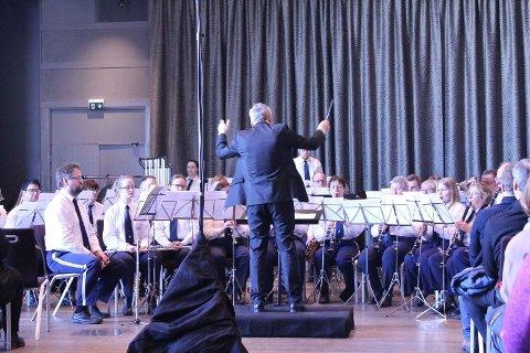 Tempo gjorde sine saker bra i NM. Dirigent var Marcus Alexandersson. (Foto:  Norges Musikkorps Forbund)