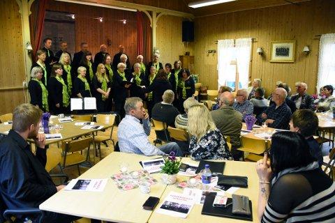 110 ÅR: Tordenskjold songlag ble stiftet i 1908, noe som skal markeres med korfest og konsert i Bøfjorden grendehus lørdag 20. oktober.