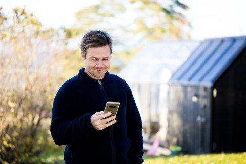 Hitch styres enkelt gjennom en app på mobilen.