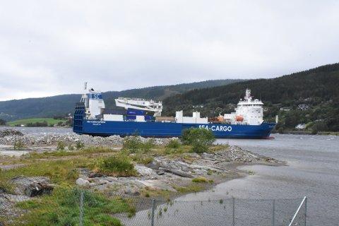 Det skal være tilkalt slepebåter for å hjelpe «Sea Cargo Express» av grunnen.