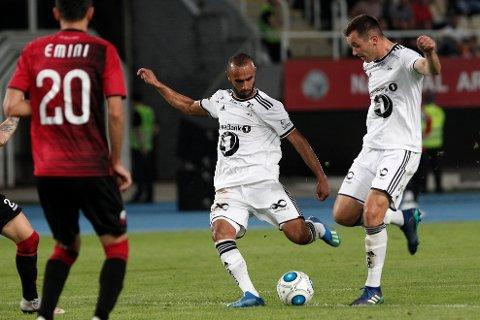 Rosenborgs målscorer Even Hovland.