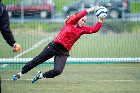 Aurora Mikalsen har spilt sin første A-kamp for Manchester United.