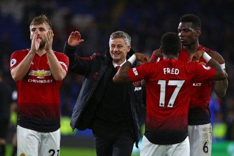 Ole Gunnar Solskjær kan smile og le etter seks strake seire med Manchester United. Spørsmålet alle nå stiller seg: Blir han permanent manager?