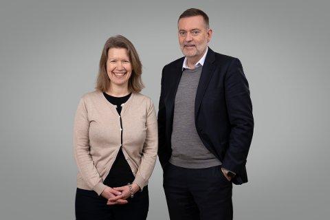 Anne Therese Gullberg blir med på laget til Jan-Erik Larsen i Kruse Larsen