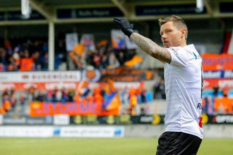 Bjørn Helge Riise avsluttet fotballkarrieren med et halvår i Sogndal.