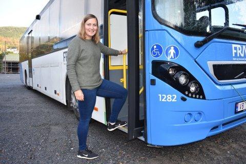Fra og med mandag førstkommende – 14. oktober – får Tingvoll bedre busstilbud. Ordningen heter «Fram Flexx» og er en bestillingsordning, forteller Ingrid Waagen.