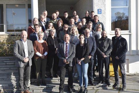 JA: Trønderkommunen Heim og dets 31 politikere i kommunestyret sier enstemmig ja til å søke om medlemskap i regionrådet for Nordmøre.