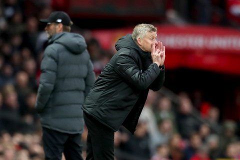 Ole Gunnar Solskjær og Manchester United var på vei mot tre poeng mot Liverpool, men seieren glapp fem minutter før slutt.