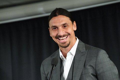 38 år gamle Zlatan  Ibrahimovic gjør comeback i AC Milan.