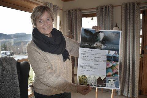 INVITERER: Daglig leder Tove Karin Halse Lervik i Halsa Frivilligsentral inviterer til alternativ feiring av julaften i lokalene til frivilligsentralen i Villa Viungen på Liabøen.
