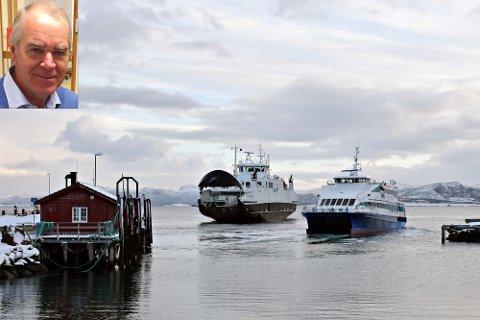 Iver Nordseth (innfelt) er mildt sagt lite imponert over tempoet når det gjelder å utbedre anløpsforholdene for Kystekspressen på Edøya. Det har ført til alt for mange kansellerte anløp, noe som gjør at brukerne ikke lenger stoler på at båten går.