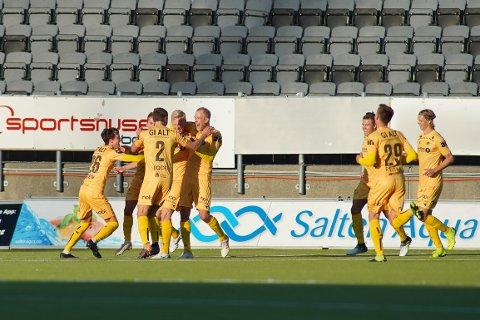 Bodø/Glimt tok hjem seieren etter en nervepirrende avslutning på kampen.