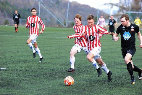 Erik Kippernes og AK tapte mot Bergsøy i cupen lørdag. Foto: Roald Sevaldsen
