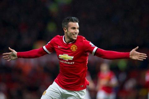 Robin van Persie hadde suksess som spiss i Manchester United.